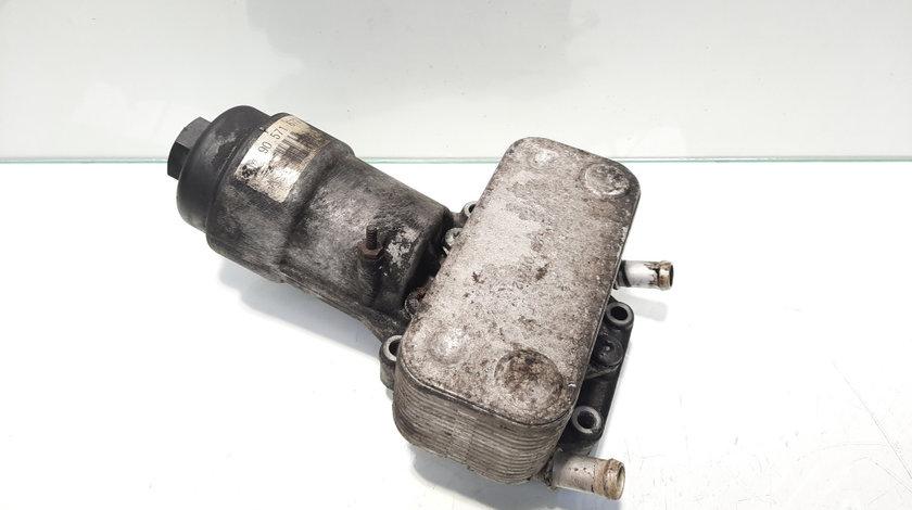 Carcasa filtru ulei cu racitor ulei, cod GM90571672, Opel Astra G Combi (F35) Y20DTH (id:456267)