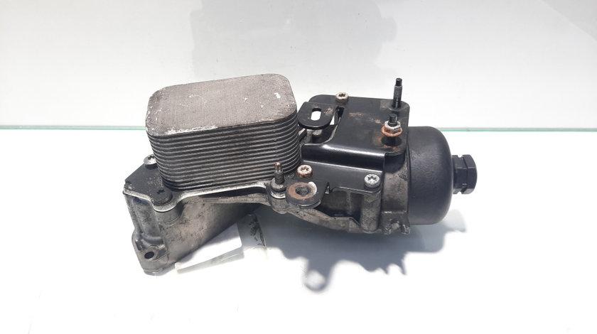 Carcasa filtru ulei cu racitor ulei, Ford Focus 3, 1.5 tdci, XUJB, 9687911280 (id:451313)
