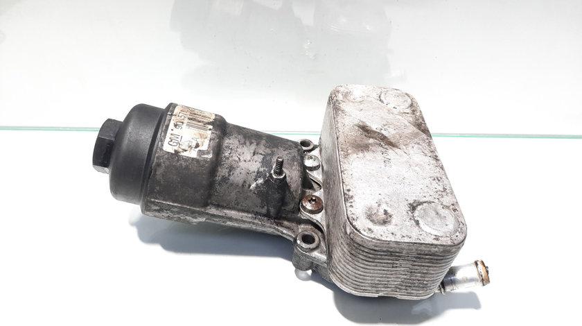 Carcasa filtru ulei cu racitor ulei, Opel Astra G Combi (F35) [Fabr 1998-2004] Y20DTH, GM90571672 (id:447581)