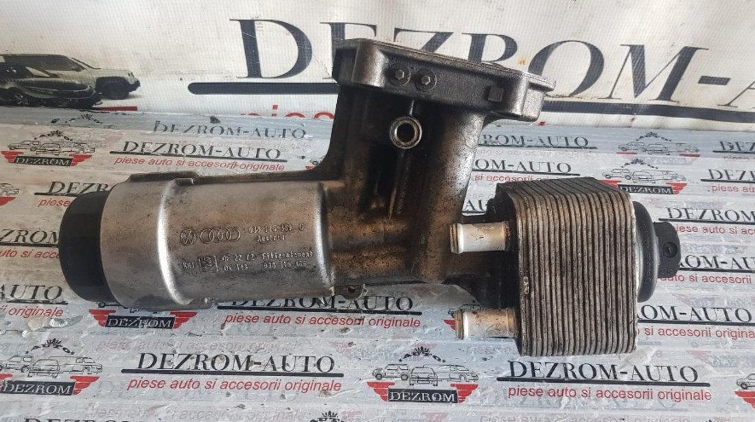 Carcasa filtru ulei / termoflot SEAT Cordoba I 1.9 TDI 90/110 CP cod 038115389C