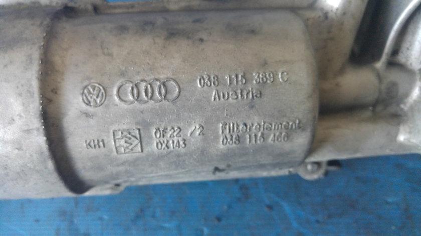 Carcasa filtru ulei termoflot vw passat b5 1.9 tdi 038115389c
