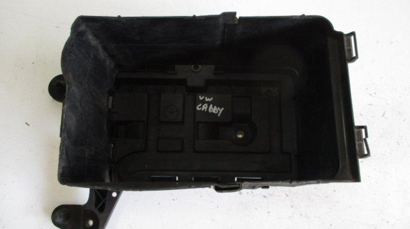 CARCASA / SUPORT BATERIE / ACUMULATOR COD 1K0915333 VW CADDY 3 1.4 BENZINA FAB. 2004 - 2010 ⭐⭐⭐⭐⭐