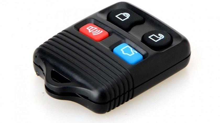 Carcasa telecomanda auto cu 4 butoane FO-124, compatibil Ford
