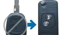 Carcasa telecomanda compatibila Peugeot 026-53 Vis...