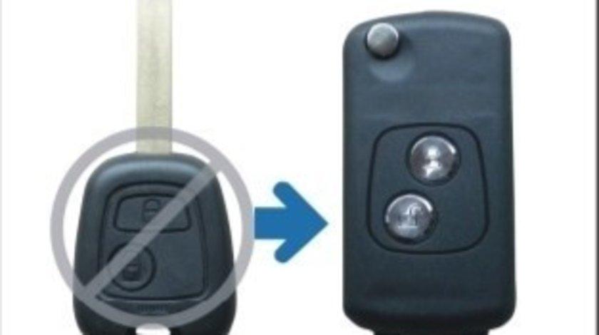 Carcasa telecomanda compatibila Peugeot 1112 VistaCar