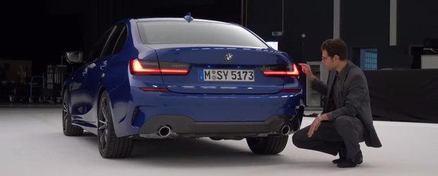 Carcotasii spun ca seamana cu Lexus. Uite cum arata, pe viu, noul BMW Seria 3