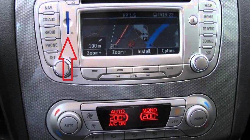 CARD navigatie Ford Blaupunkt FX 2018 Focus Modeo S-Max