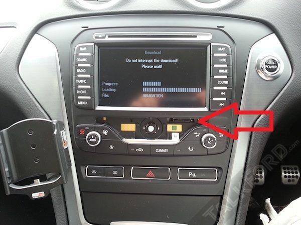 Card Navigatie-Ford MCA Focus Mondeo Kuga S-Max-Romania 2019