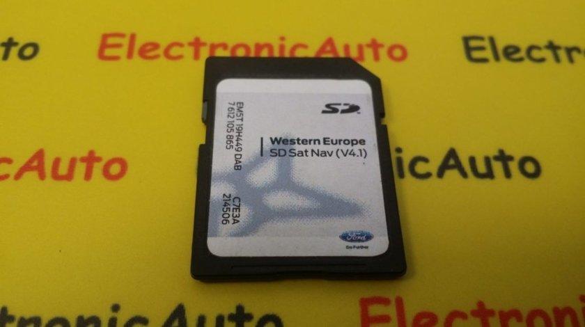 Card Navigatie Ford Ranger, EM5T19H449DAB, 7612105865