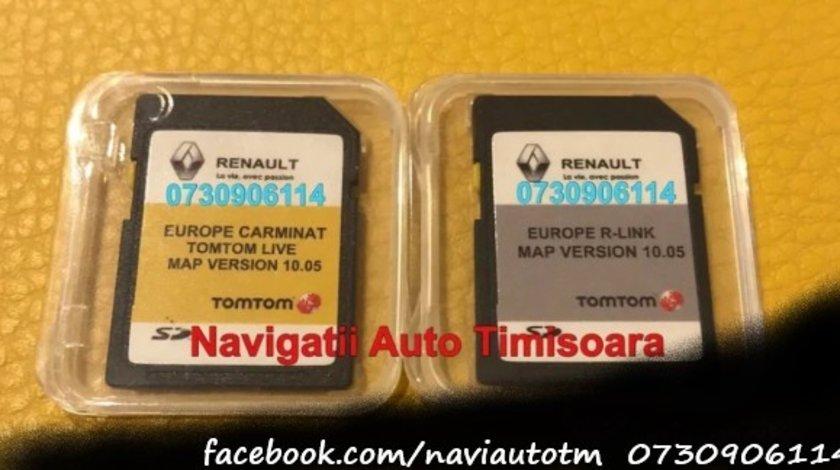 CARD navigatie Renault Clio Megane Laguna Carminat LIVE Rlink 2020