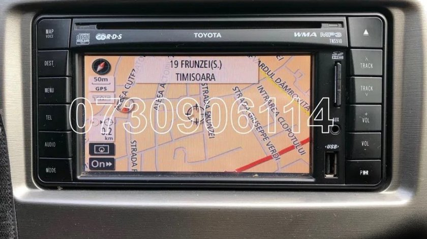 Card Original Toyota TNS 510 Europa 2020 Auris Avensis RAV4 Yaris