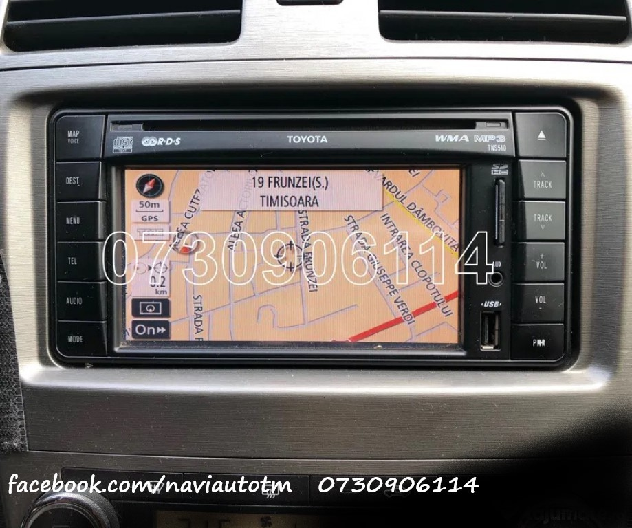 Card Original Toyota TNS 510 Harti Navigatie Europa Romania 2020