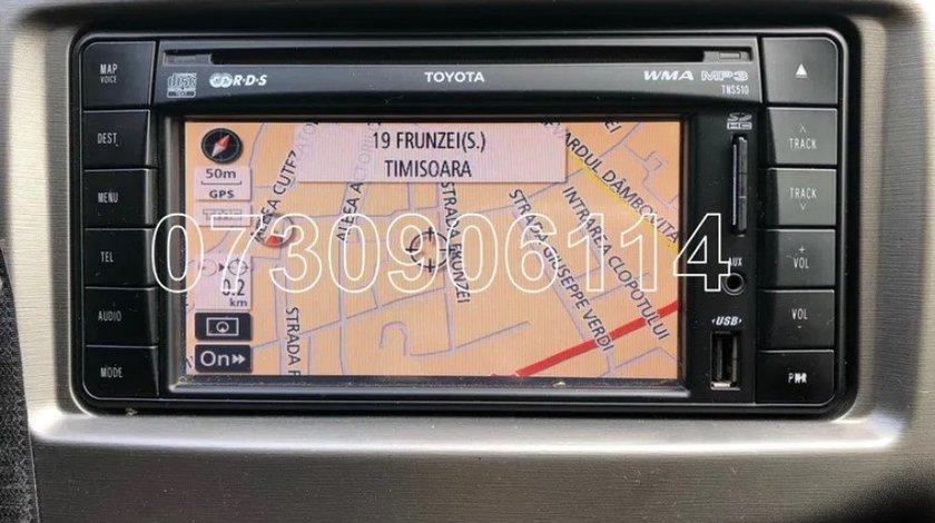 Card Original Toyota TNS 510 RAV4 Prius Harti Europa Romania 2019