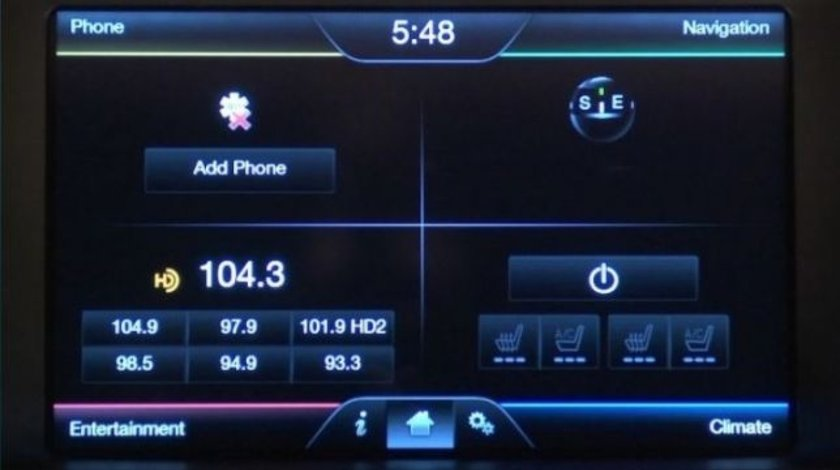 Card SD FORD Sync 2 F6 Focus C-Max B-Max Kuga Mondeo Romania 2019