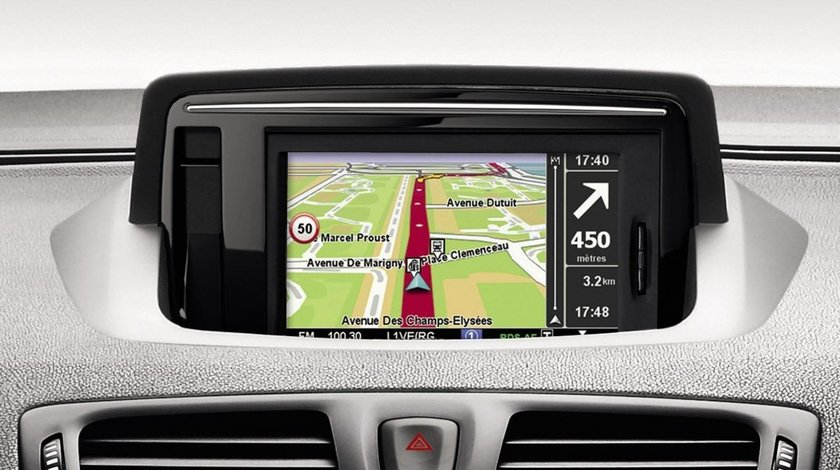Card SD Harti Navigatie GPS TomTom Carminat LIVE R-LINK Renault Scenic Laguna Fluence Megane Clio Ko