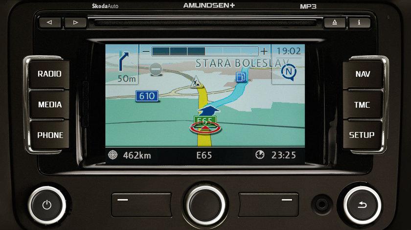 CARD SD navigatie Skoda Amundsen PLUS Europa ROMANIA V8 2016