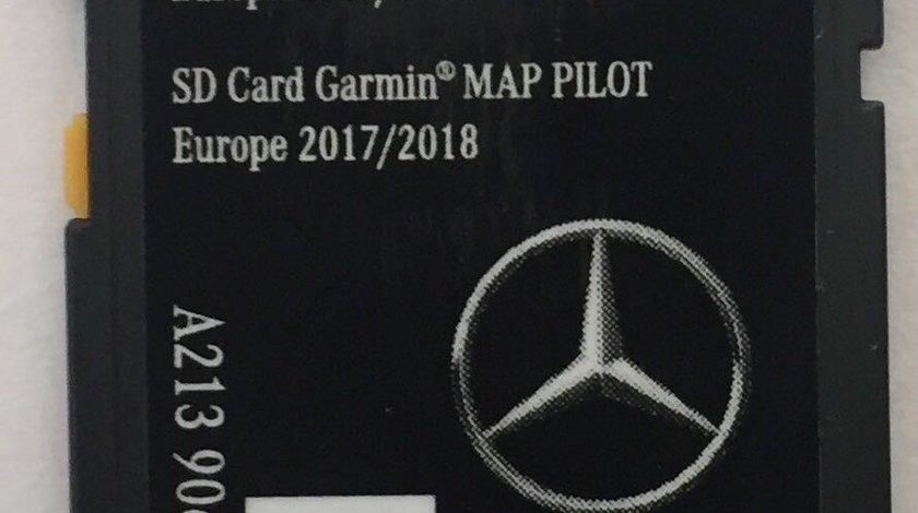 Card SD original Mercedes Garmin NTG5 A B CLA CLS E ML GLA GLE 2018