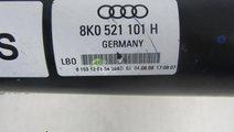 Cardan original Audi A4 8K cod 8K0521101H 2 0 TFSI