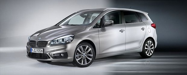 Care a copiat pe care: BMW Seria 2 Active Tourer vs. Kia Carens