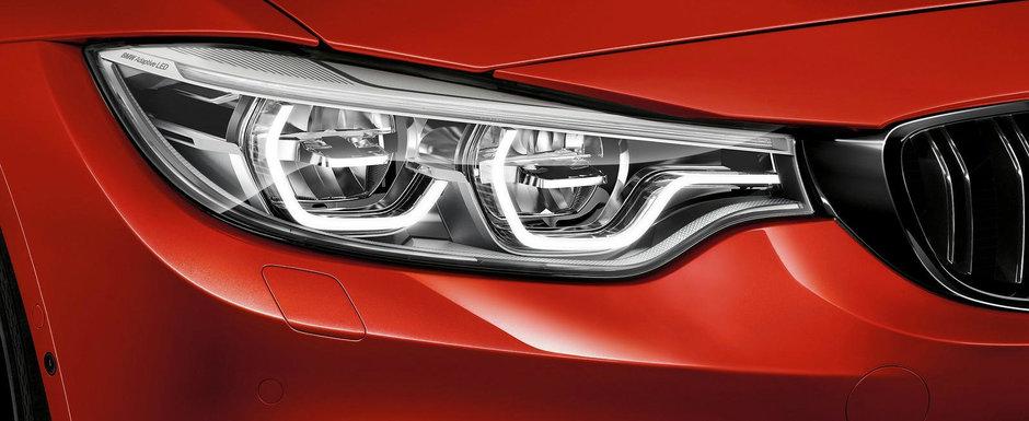 Care C63 AMG? Altceva baga, de fapt, spaima in noul BMW M4. VIDEO
