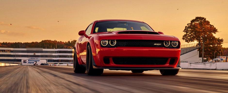 Care Chiron? Noul Challenger Demon sprinteaza pana la 96 km/h in doar 2.3 secunde!
