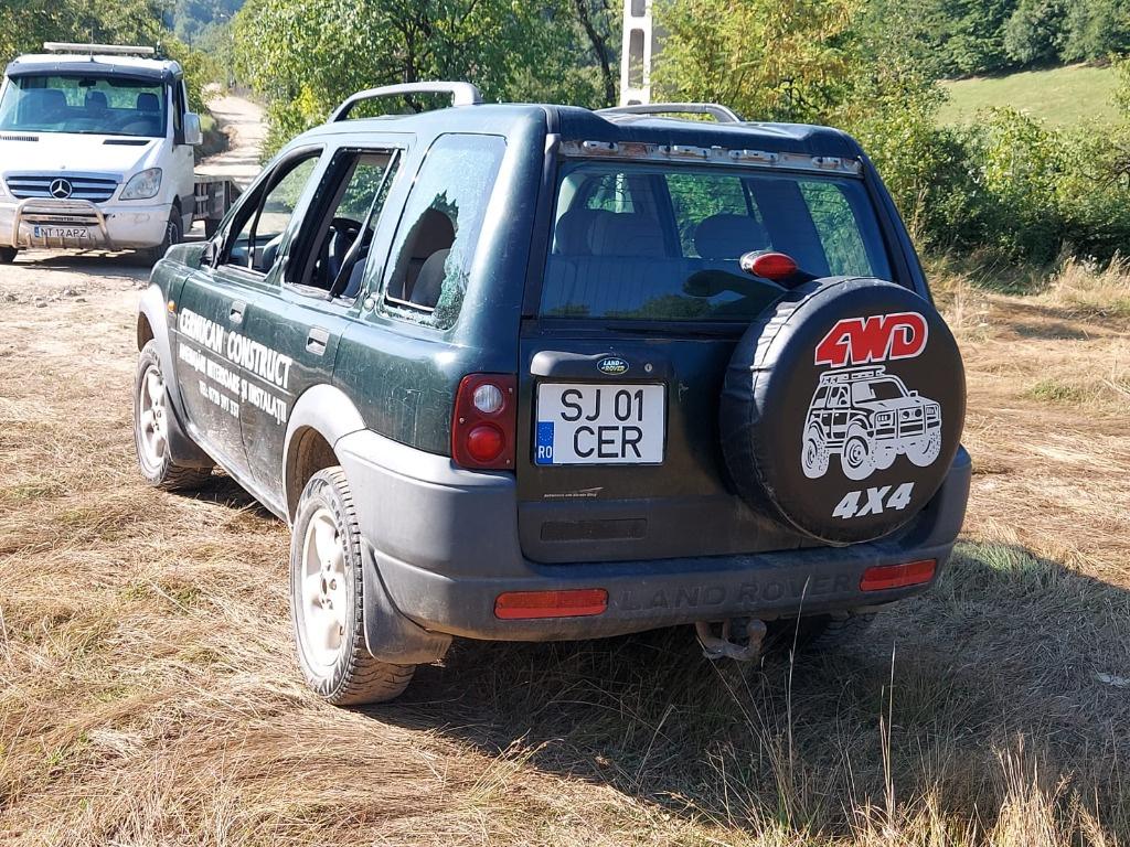 Carenaj aparatori noroi fata Land Rover Freelander 1999 4x4 1.8 benzina 18K4F