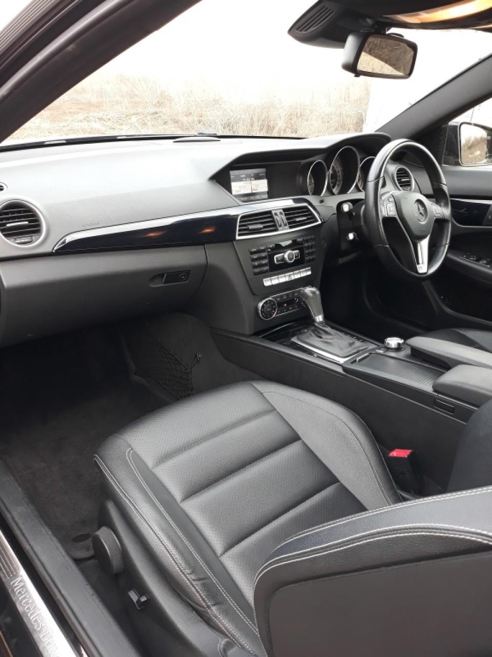 Carenaj aparatori noroi fata Mercedes C-CLASS W204 2013 coupe 2.2