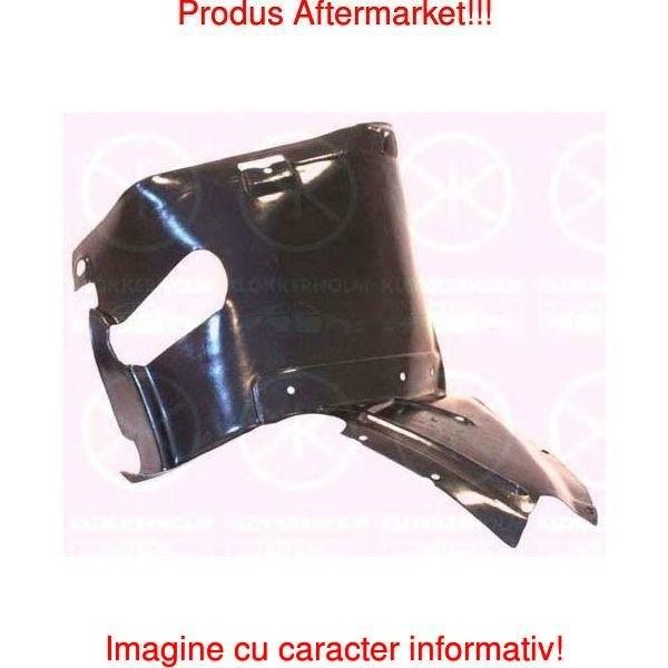 Carenaj roata Audi A3 (8P), 05.2003-04.2008, partea Dreapta, punte Fata partea din fata, 8P0821192B, 1331FP1T, Polyethylene Kft Auto