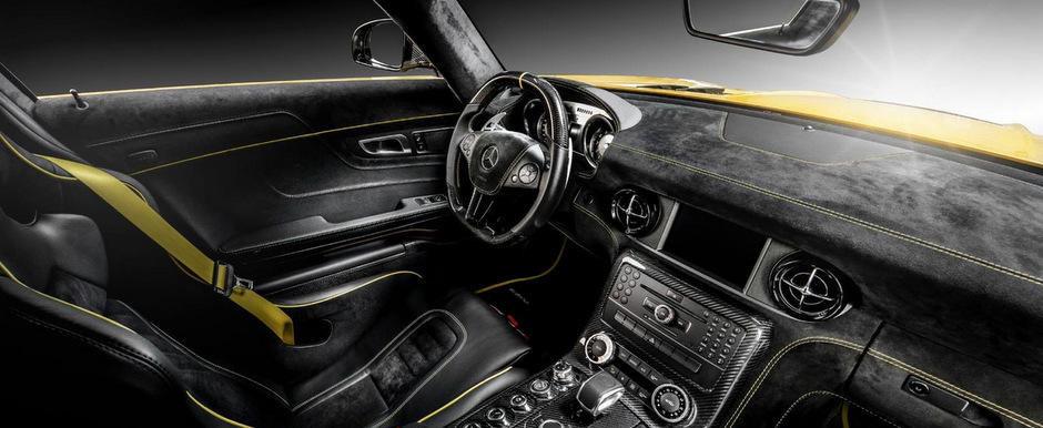 Carlex Design perfectioneaza Mercedes-ul SLS AMG Black Series