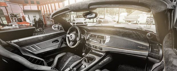 Carlex Design transforma complet interiorul unui BMW Z4 V8