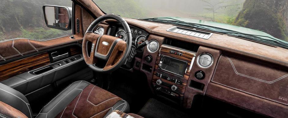 Carlex Design transforma complet interiorul camionetei Ford F-150