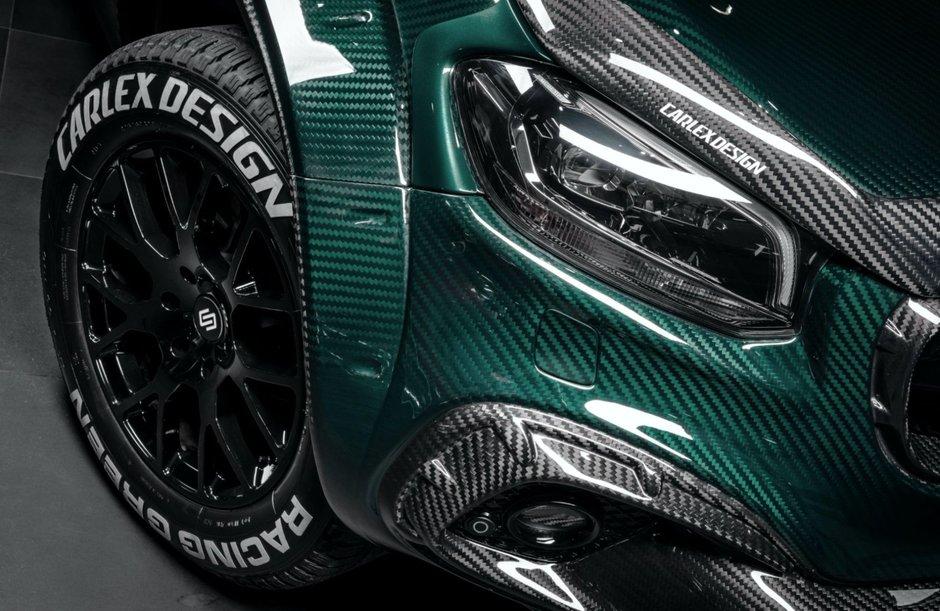 Carlex Design X-Class Racing Green