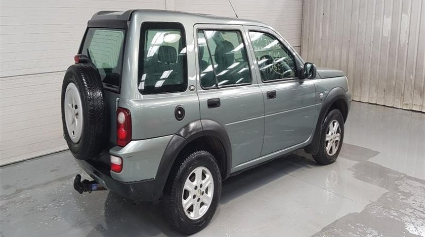Carlig remorcare Land Rover Freelander 2005 SUV 2.0d