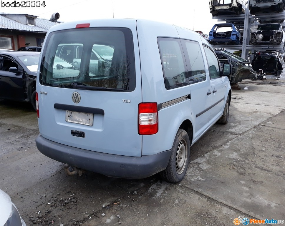 Carlig remorcare vw Caddy 2008