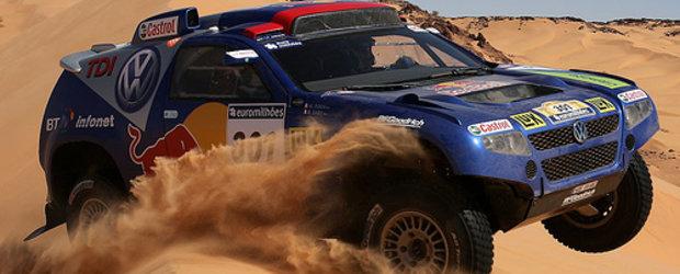 Carlos Sainz castiga prima etapa de la Dakar