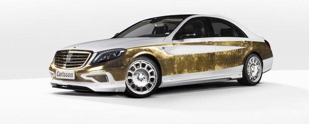 Carlsson CS50 Versailles: Un Mercedes S-Class pentru cei cu aspiratii de regi