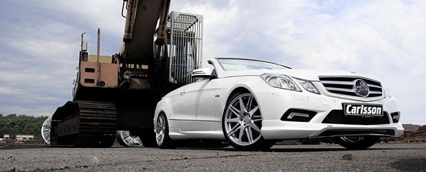Carlsson rafineaza noul Mercedes E-Class Cabrio