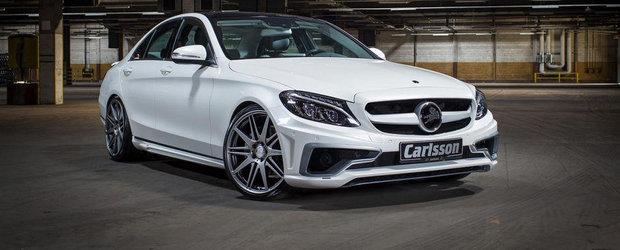 Carlsson restilizeaza noul Mercedes C-Class