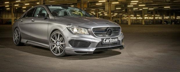 Carlsson revine in peisaj cu un pachet de tuning pentru Mercedes CLA