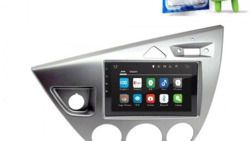 Carpad Navigatie Android Dedicata Ford Focus Mk1 1999-2004 Gps Carkit USB Waze CARGUARD CD777FF
