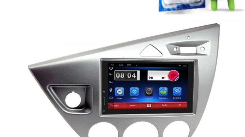 Carpad Navigatie Android Dedicata Ford Focus Mk1 Gps Carkit USB Waze NAVD-E902FF