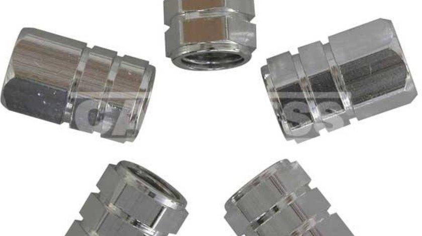 Carpriss set 5 capacele ventil universale din aluminiu