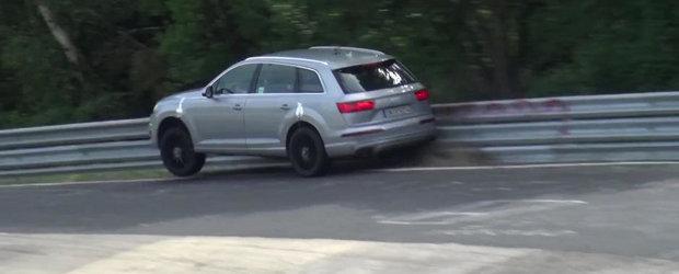 Caruselul de la Nurburgring se dovedeste o provocare prea mare pentru Audi SQ7