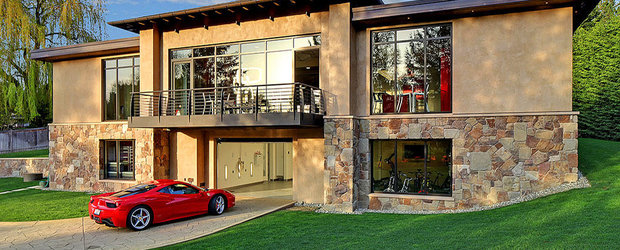 Casa ideala: 2 camere si un garaj pentru 16 masini cu atelier inclus