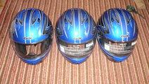 Casca Casti Moto Gix Mirage Albastra Size M L XL N...