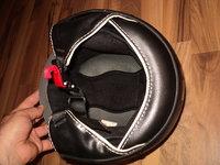 casca moto chopper open-face ls2 ,gri sobolan,masura XL (61,62 cm) cu viziera mare