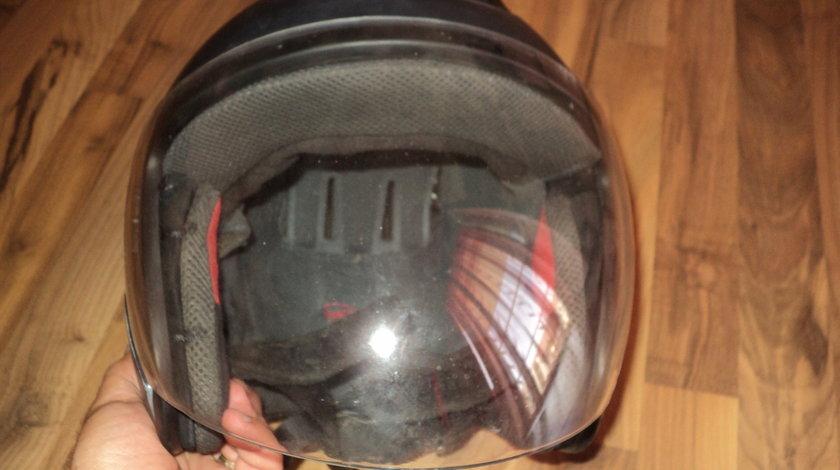 casca moto open-face ls2 ,gri sobolan,masura XL (61,62 cm)