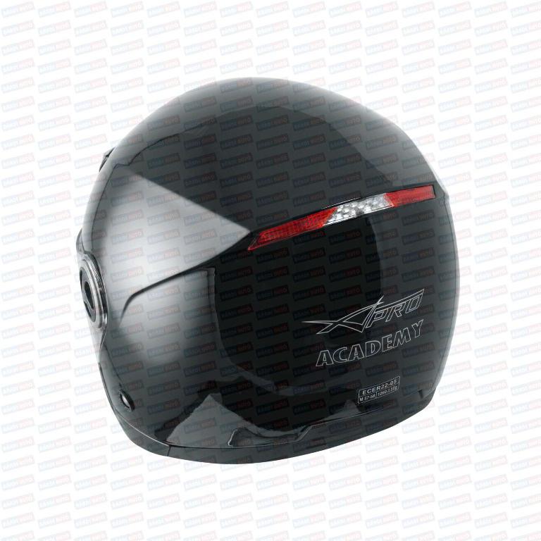 CASCA MOTOCICLETA / SCUTER / ATV OPEN-FACE A-PRO MODEL ACADEMY CASCO JET M ⭐⭐⭐⭐⭐