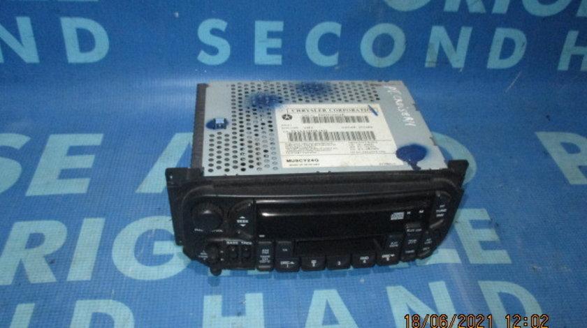 Casetofon Chrysler PT Cruiser; P05091601AE