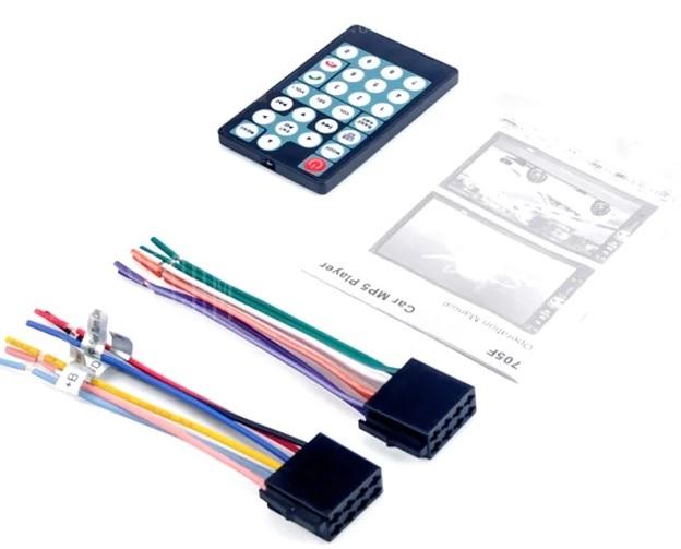 Casetofon DVD Mp3,Mp4,Mp5,Player Auto Display7 inch Bluetooth Hands Free,card,USB 2Din